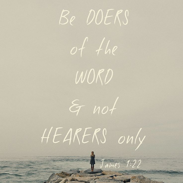 doers of the word scripture